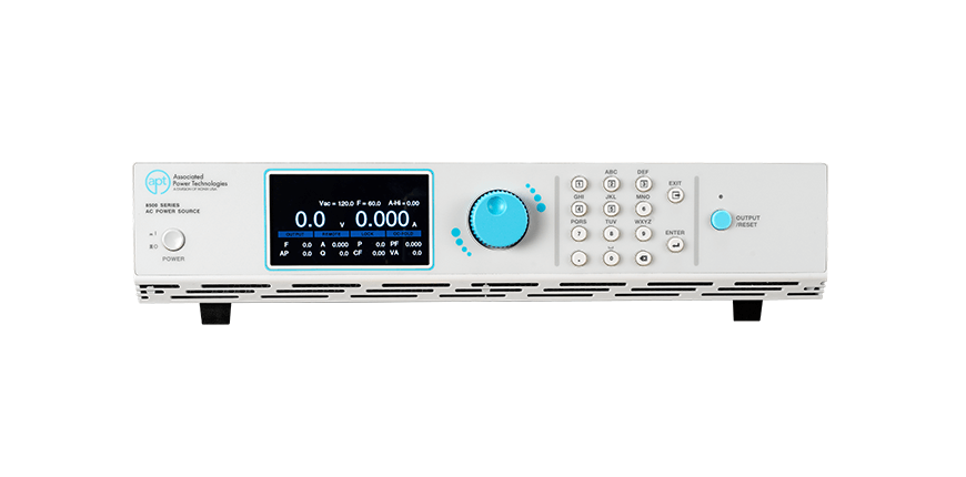 Programmable-AC-Power-Source-8505-Front