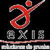 Exis logo white